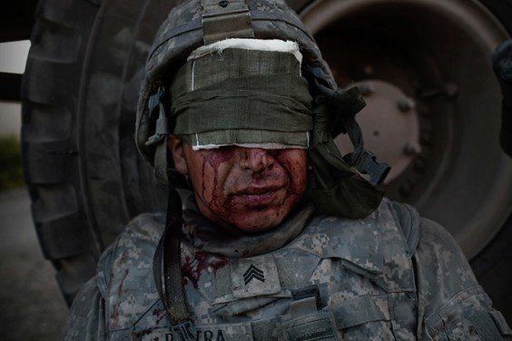 Photo by Adam Ferguson for War/Photography exhibit
