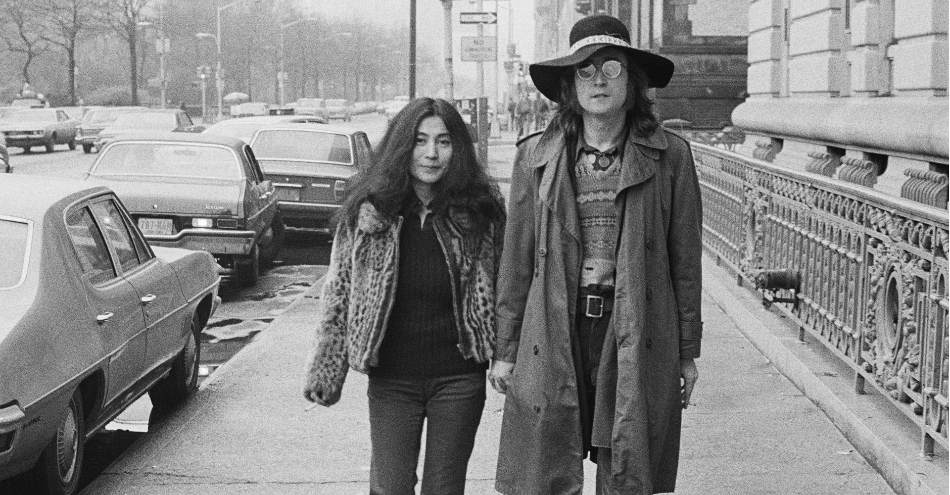 John Lennon & Yoko - New York City, NY