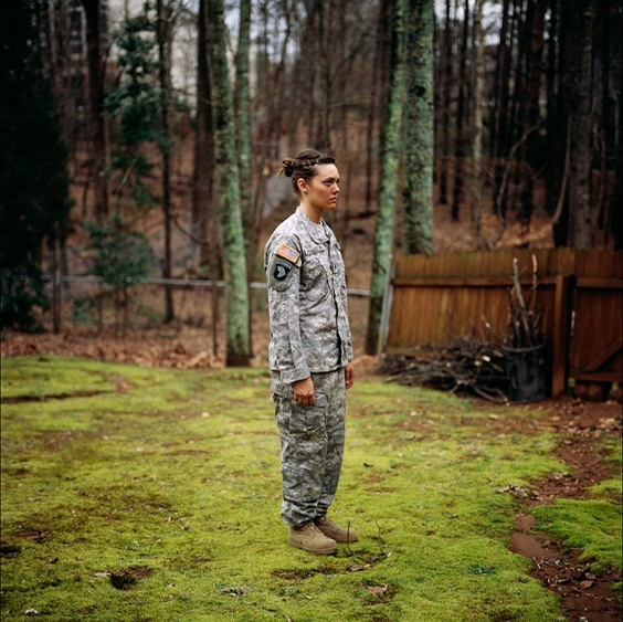 Photo by Guillaume Simoneau for War/Photography exhibit