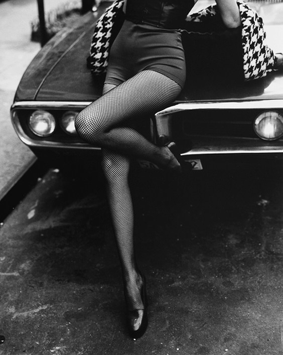 Photo by Kevin Hatt for Helmut Newton exhibit