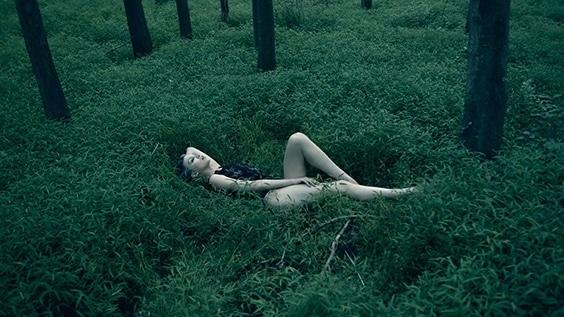 Photo by Lane Coder for Helmut Newton exhibit