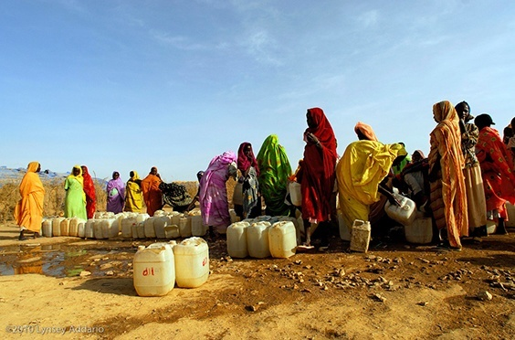 Photo by Lynsey Addario for Water exhibit