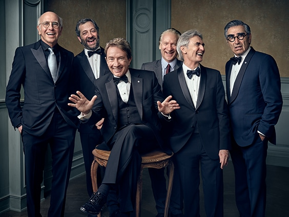 Larry David, Judd Apatow, Martin Short, Bill Maher, David Steinberg, Eugene Levy, April 2016 April 2016