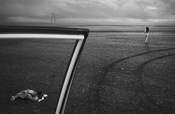 Photo by Mason Poole for Helmut Newton exhibit