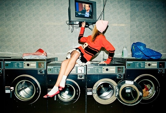 Photo by Meredith Jenks for Helmut Newton exhibit