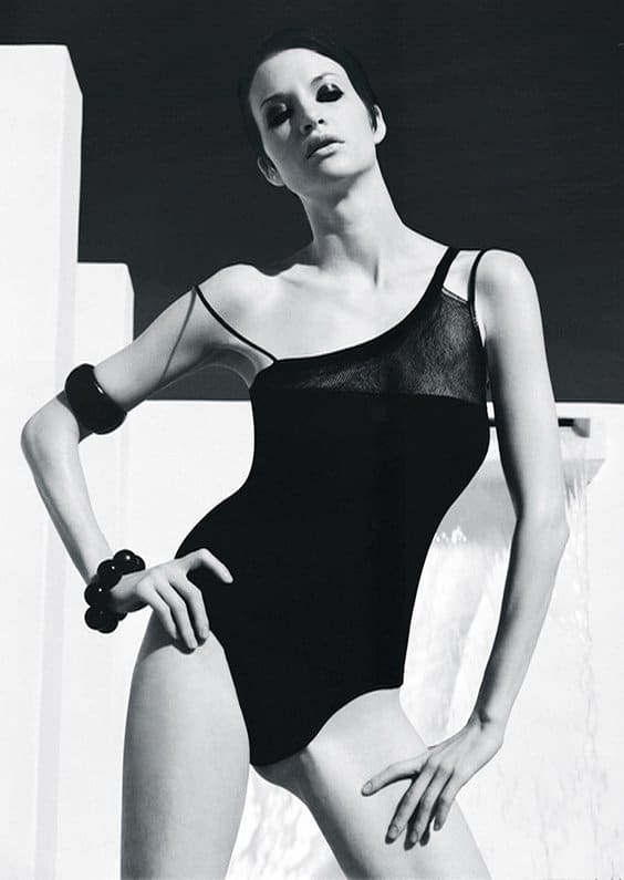 Photo by Miranda Penn Turin for Helmut Newton exhibit