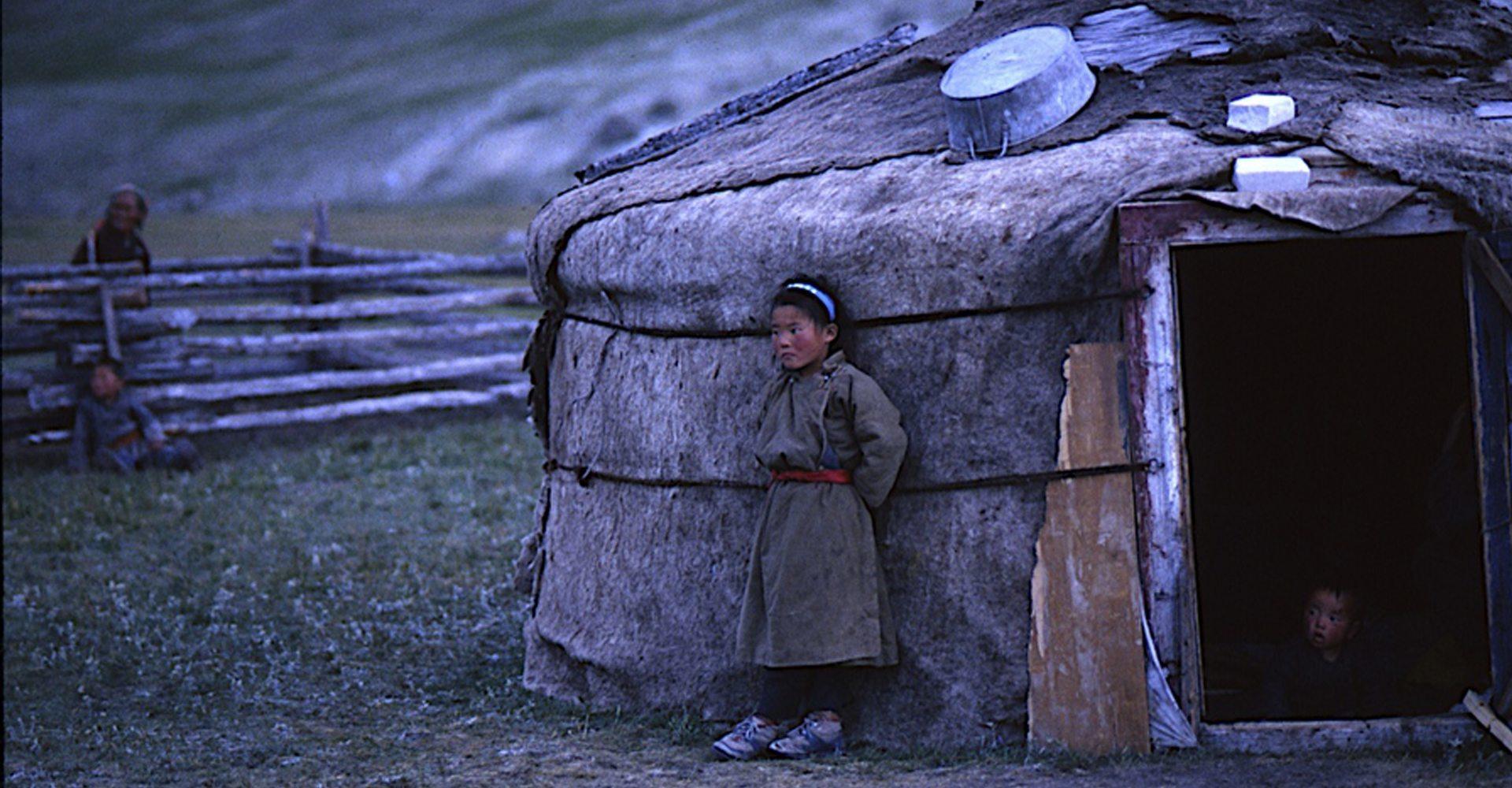 Mongolian Yurt : Mongolia: