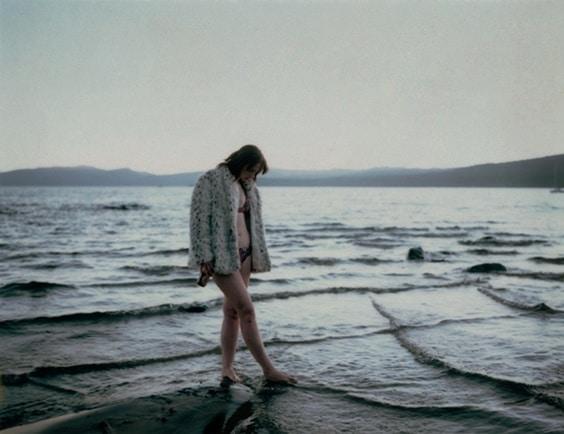 Photo by Venetia Dearden for Helmut Newton exhibit