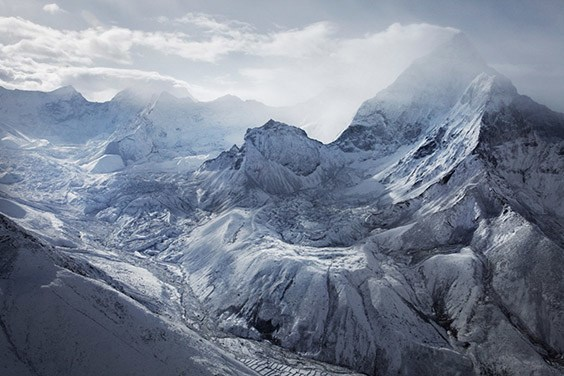 Nepal, 2009  The snowy peaks of the Himalaya are part of a freshwater cache that courses down to a vast populace of two billion people. However, warming temperatures and fast-melting ice could cause disasters downstream.