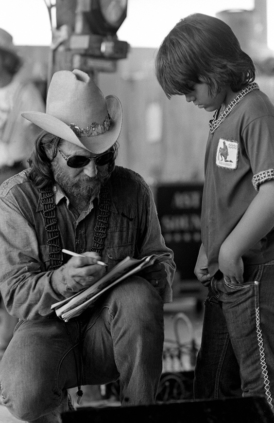 Willie Nelson, Texas, c. 1974