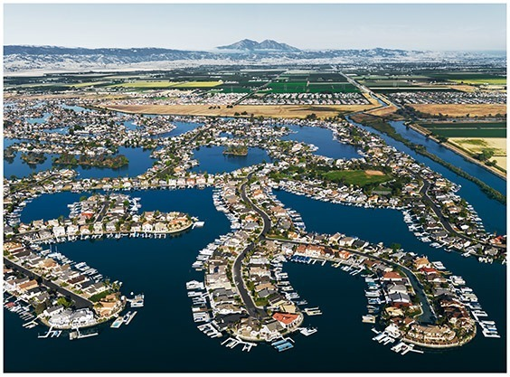 California, USA  As developments such as Discovery Bay increase in the Sacramento-San Joaquin Delta, so does the flood hazard. More than a million people now live behind delta levees, which are susceptible to increasingly severe coastal storms.