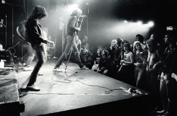 Photo by Godlis for Who Shot Rock & Roll exhibit