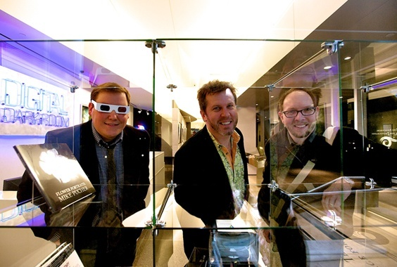 Ted Grudowski, Mike Pucher and Christopher Schneberger: Three Views on 3D