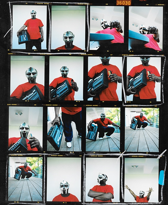 MF Doom,  Los Angeles, 2003