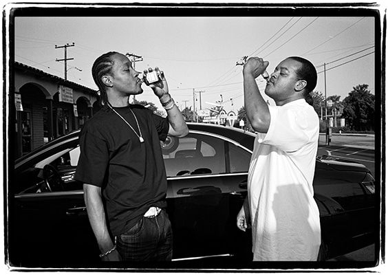 DJ Quik and Suga Free,  Los Angeles, 2010